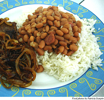 Direct from the source: Brazilian Rice and Beans