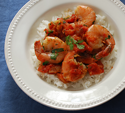 shrimp-rougail