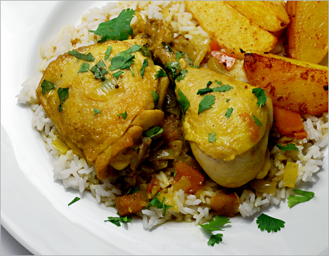 a basic chicken curry recipe