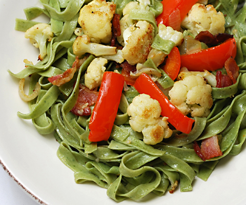 cauliflower-spinach-pasta2