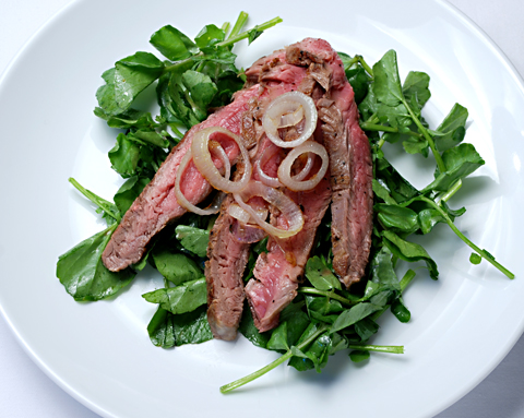 flank-steak-watercress