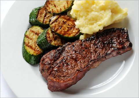 Rosemary, garlic and onions make grilled steaks healthier—and really ...