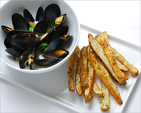 mussels-frites