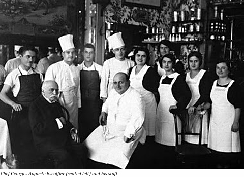 Training for culinary careers for Auguste escoffier ma cuisine book