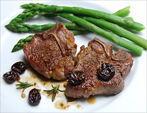 lamb-chops-cherries
