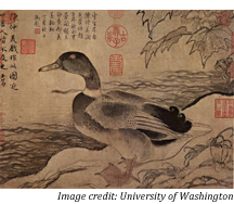 chinese-duck-painting
