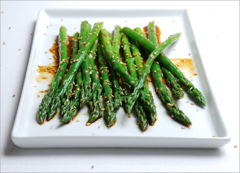Asian marinade for asparagus