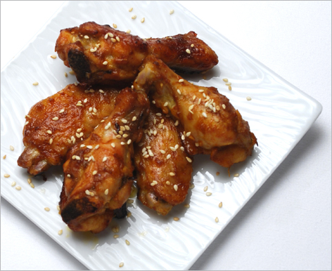 chicken wings bbq chicken wings recipe jalan alor chicken wings korean ...
