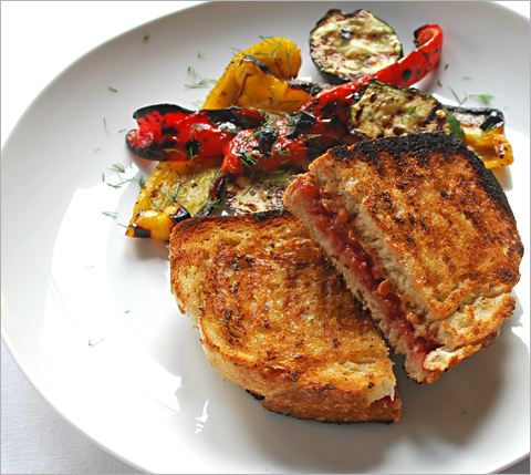 ... Jam, Grilled Peanut Butter and Jelly, Grilled Zucchini and Peppers