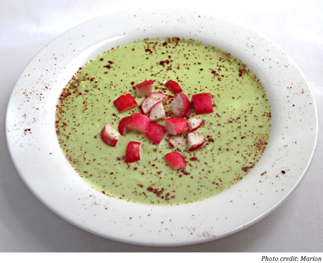 soup recipe radish kefir soup chilled radish buttermilk soup soup and ...