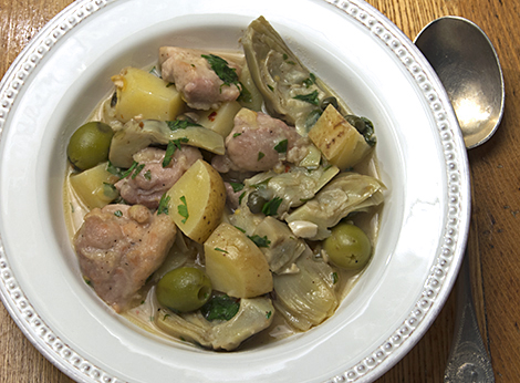 Italian Chicken Stew Hedgebrook