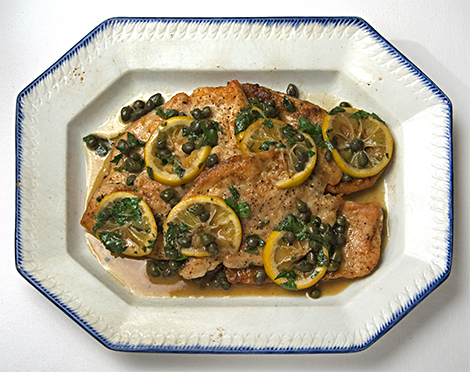 Chicken recipes: Chicken Piccata