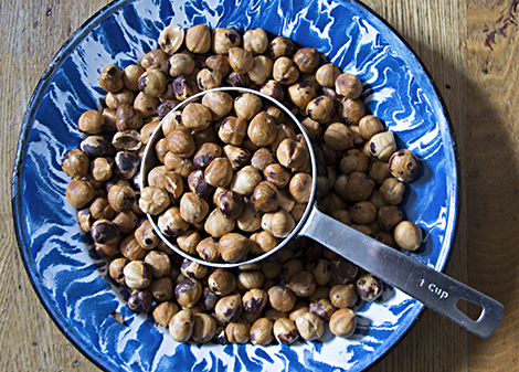 roasted hazelnuts