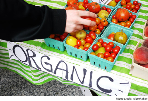 Organic produce is healthier