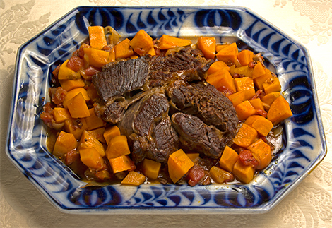 Chipotle Pot Roast with Sweet Potatoes
