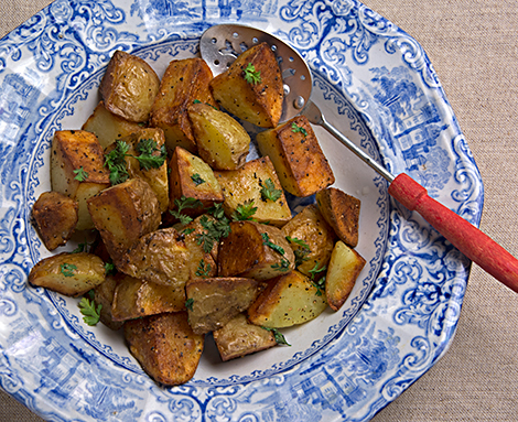 Quick Skillet Potatoes with Herbs