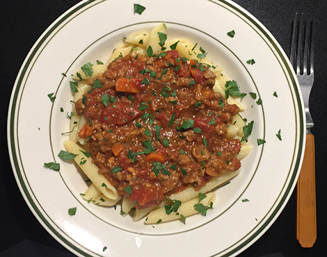 Duck Ragu with Brown Ale
