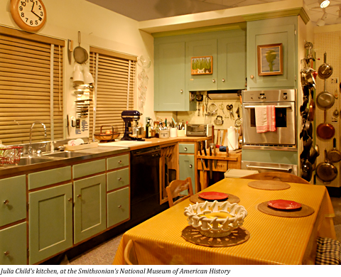 Terry Marion And Julia Julia Child S Kitchen And Other