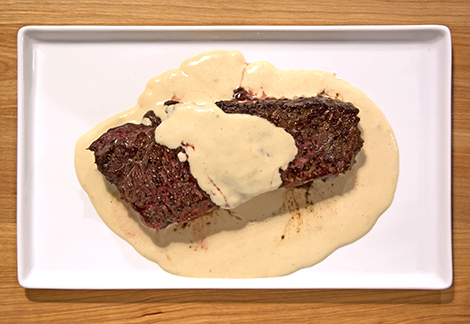 how to make mustard sauce for steak